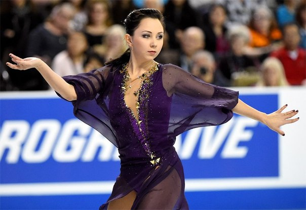 Liza Tuktamysheva performing her short program.