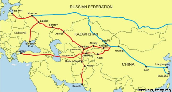the silk road project