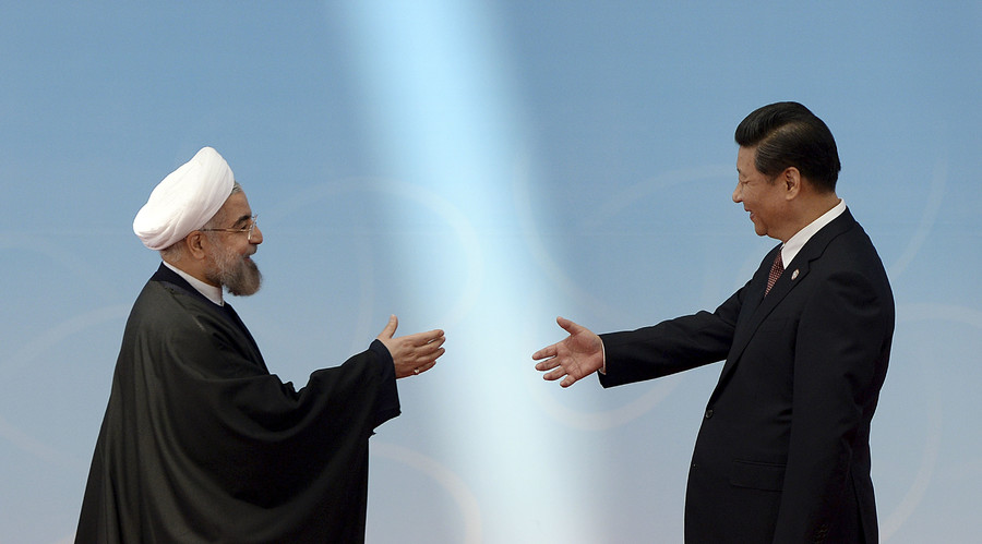 iran russia relationship with china
