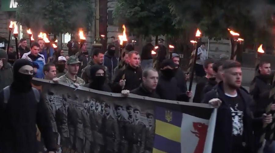 Antifascist Photo Exhibition put torchlit marches on display