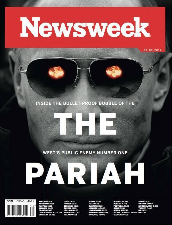 Newsweek ist einer der penetrantesten Anti-Putin-Hetzer seit Jahren