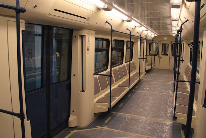 moscow pledges massive 3 2 billion for new metro cars. Black Bedroom Furniture Sets. Home Design Ideas