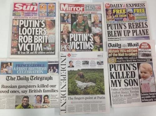Ein neues Tief der westlichen Medien