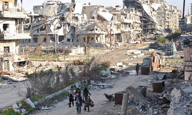 Homs, Syria, 2016
