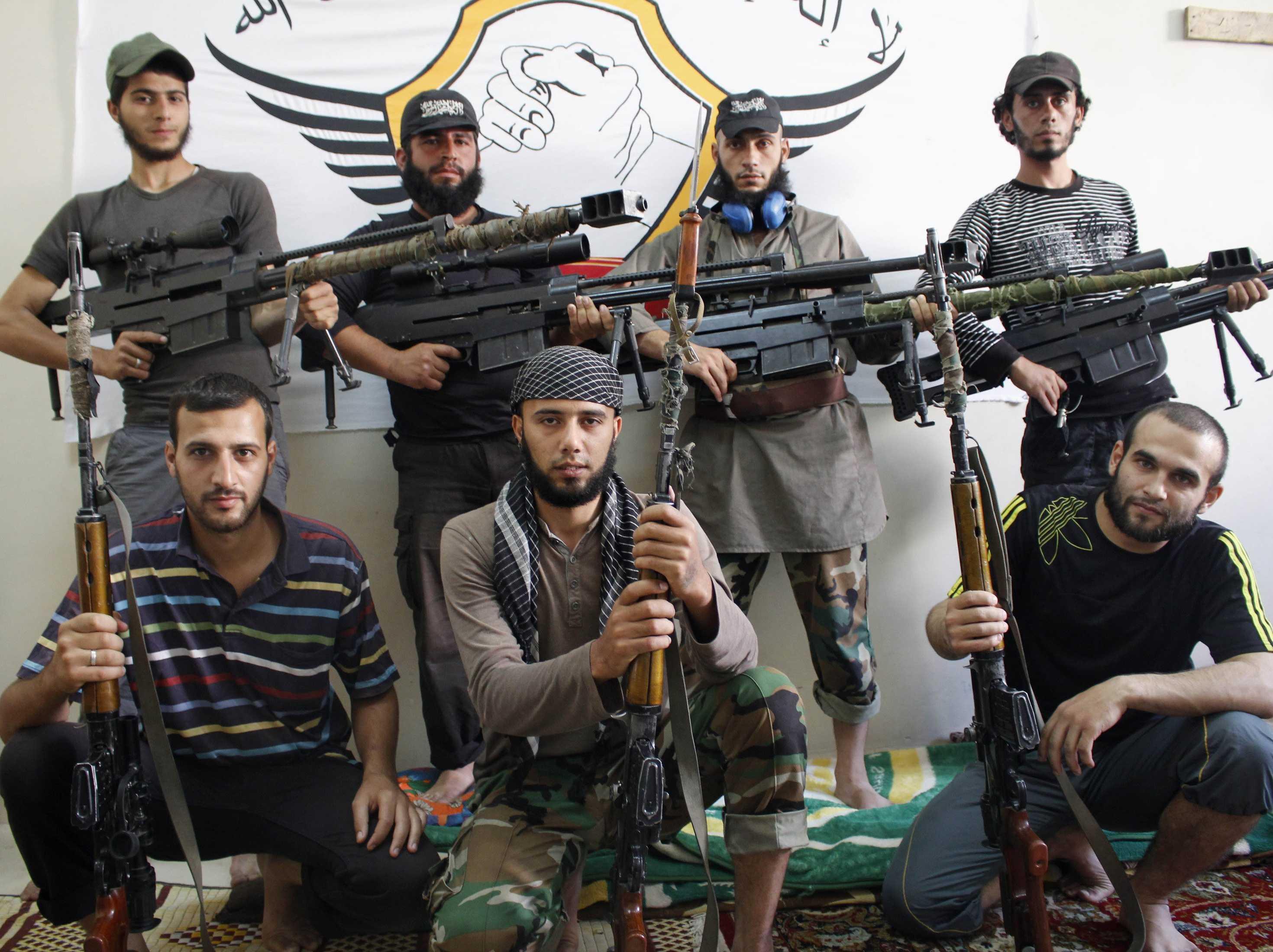 Výsledek obrázku pro trump and syrian rebels