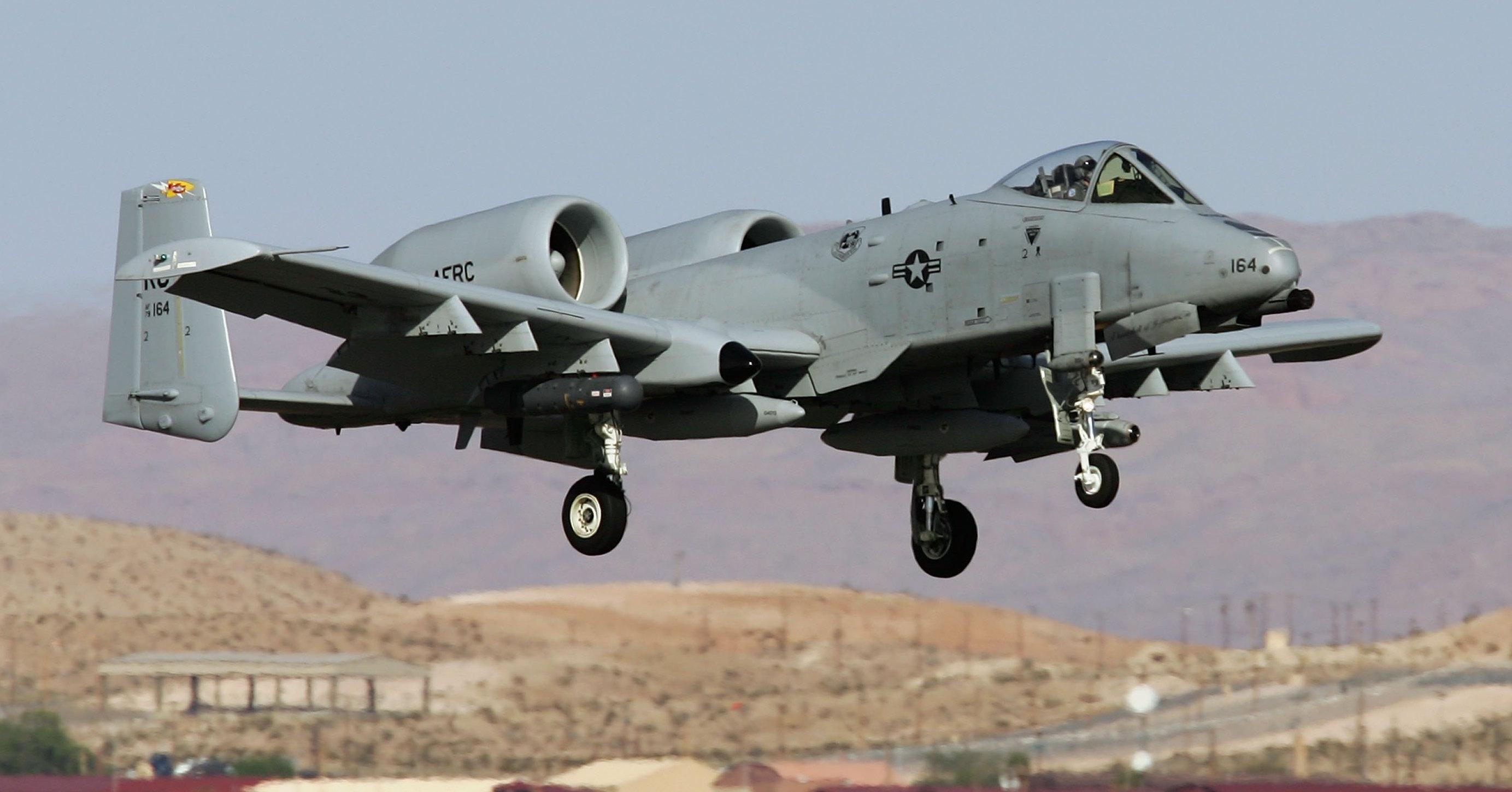 Warthog Plane