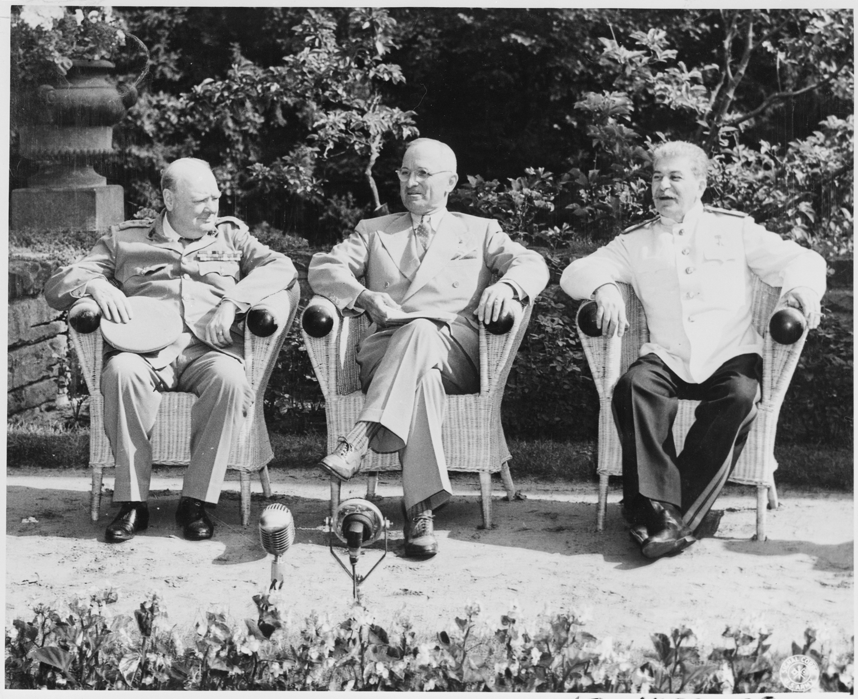 Iron curtain speech - Wartime Allies