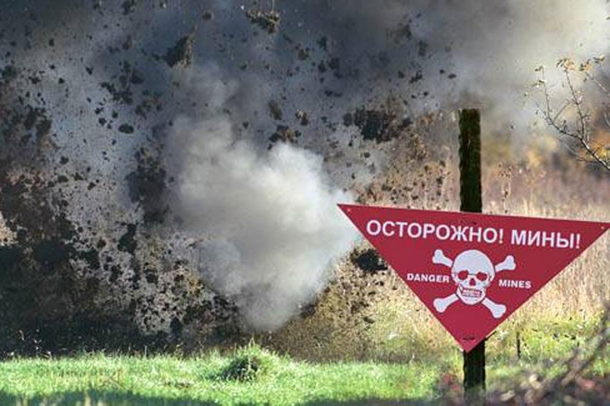 Ополченцы передали Украине тела ВСУшников подорвавшихся на собственной мине