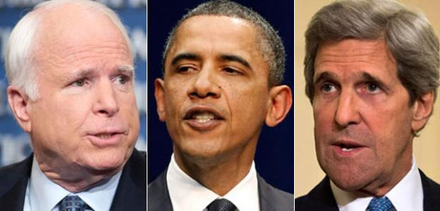 Маккейниаки, ОбамаКерри и РораБрэдли: Кто разыгрывает...