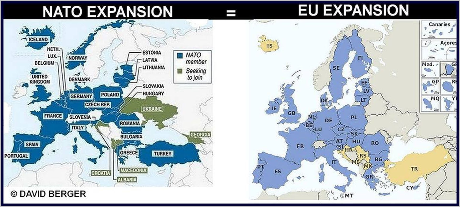 the us caused the ukrainian crisis by pushing nato and the eu to nato jpg