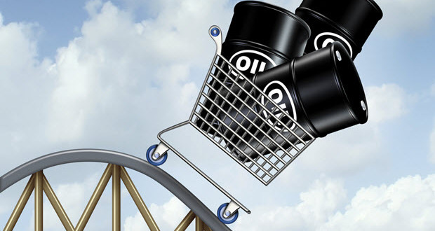 Oil prices are falling