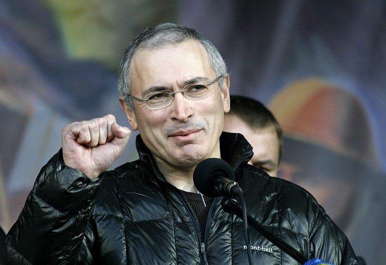 Khodorkovsky at Maidan in Kiev