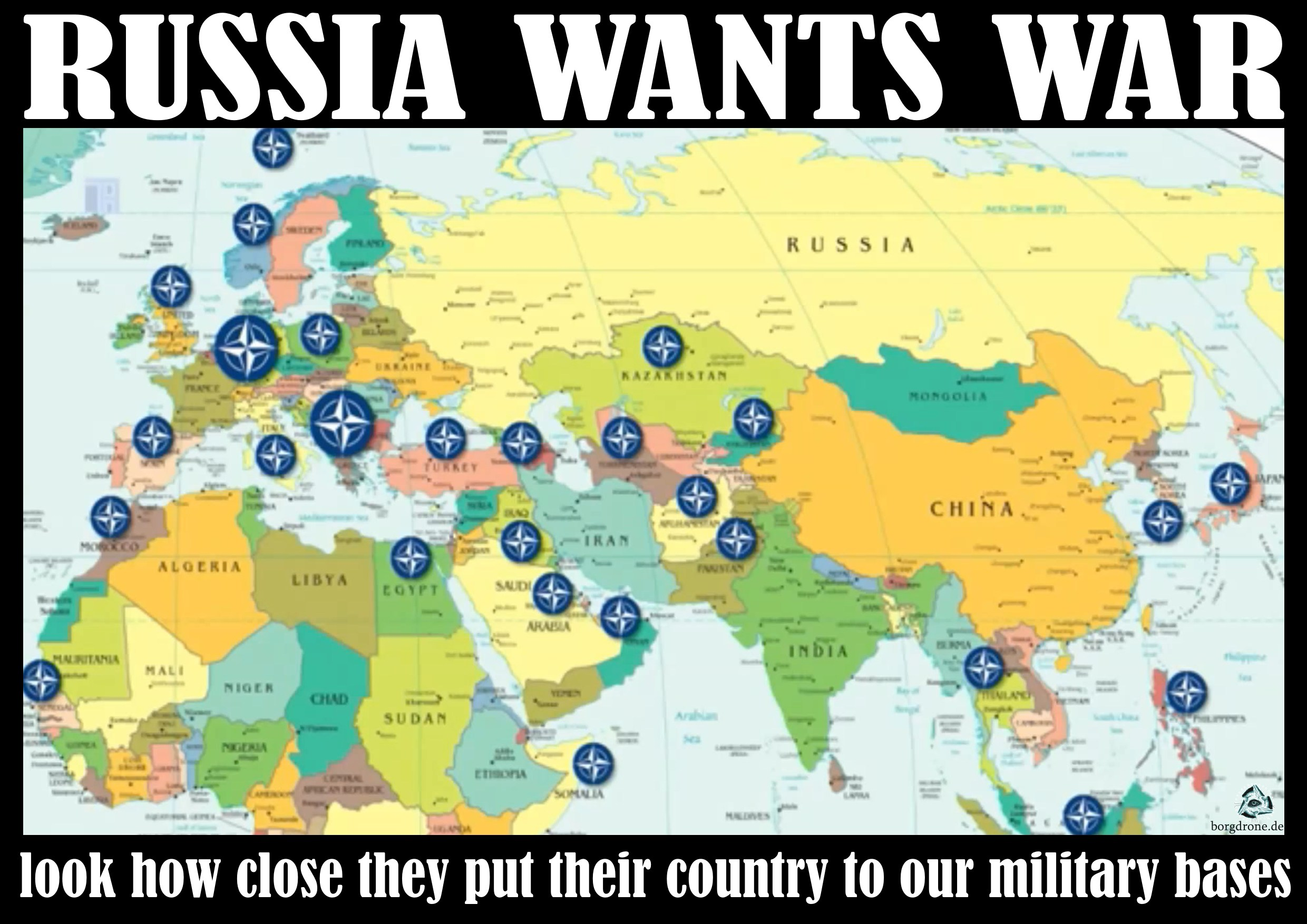Foreign Military Bases Arent Defense They Are A Threat To Our - Map of all military bases in us