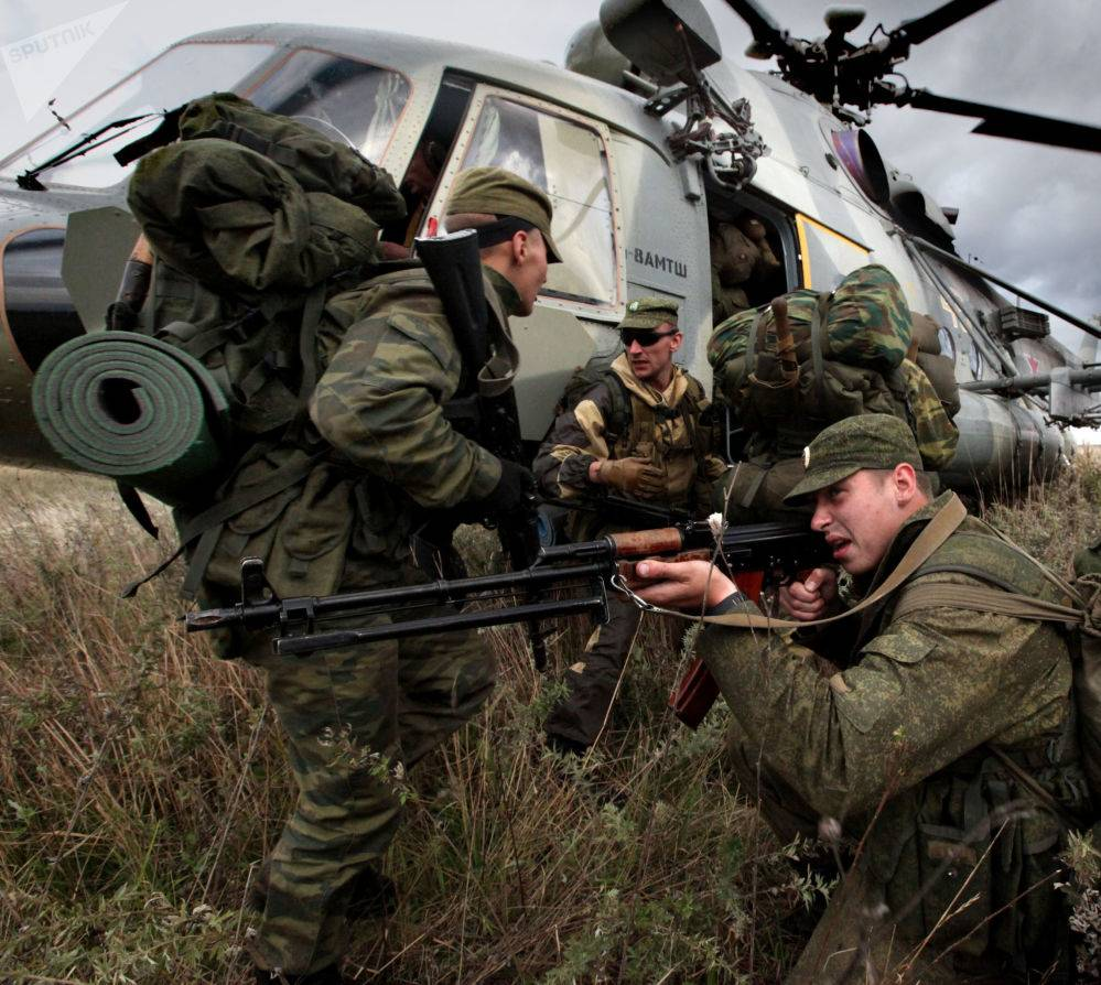 Excellent Video of Russian Marines in Action