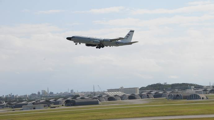 Mighty hangars and strange planes at Kadena Base | Photo: Andre Vltchek