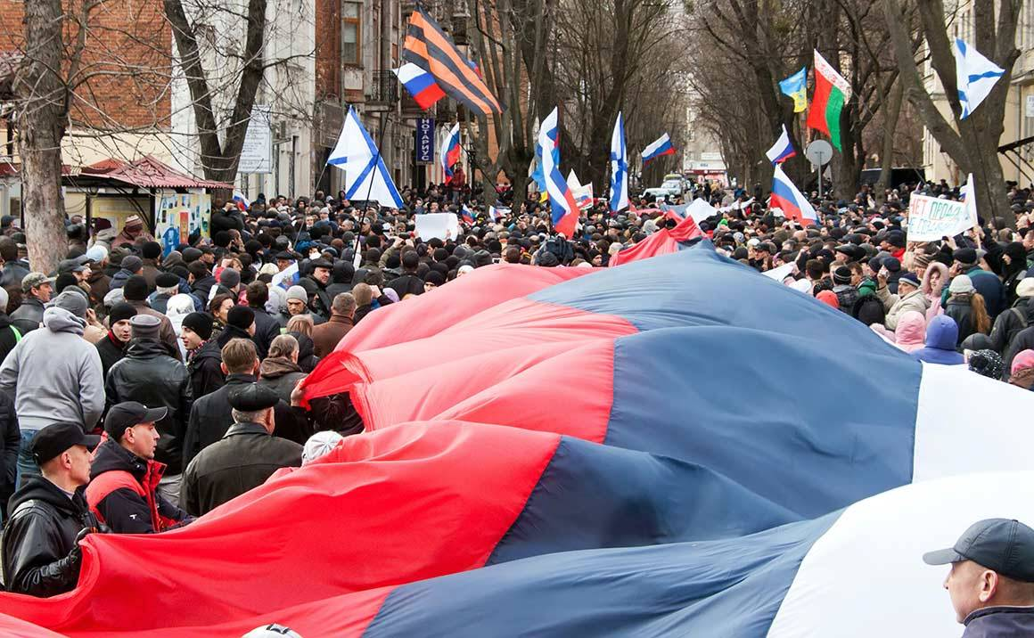 So-called 'Russian Spring' in Kharkov, March 2014