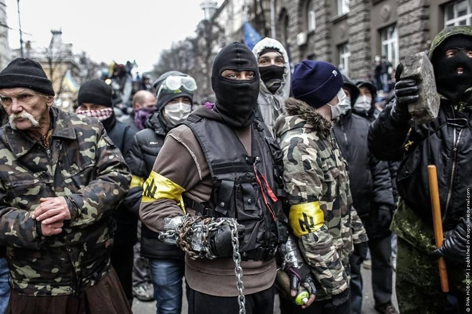 The Story of Charlottesville Was Written in Blood in the Ukraine