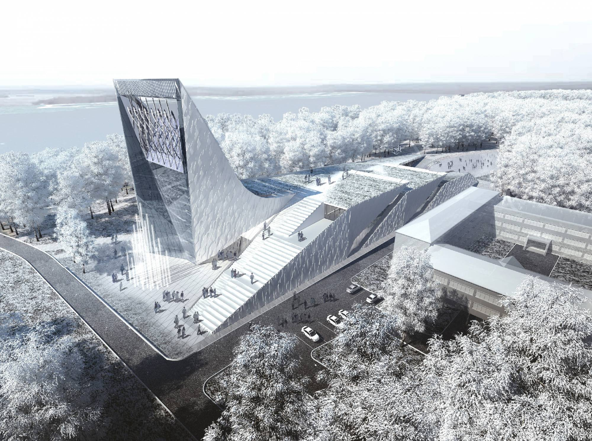 Science and Technology Museum in Tomsk © Asadov Architectural Bureau - See more at: http://www.argophilia.com/news/five-russian-architectural-projects-to-blow-your-mind/215651/#sthash.28c96UlE.dpuf