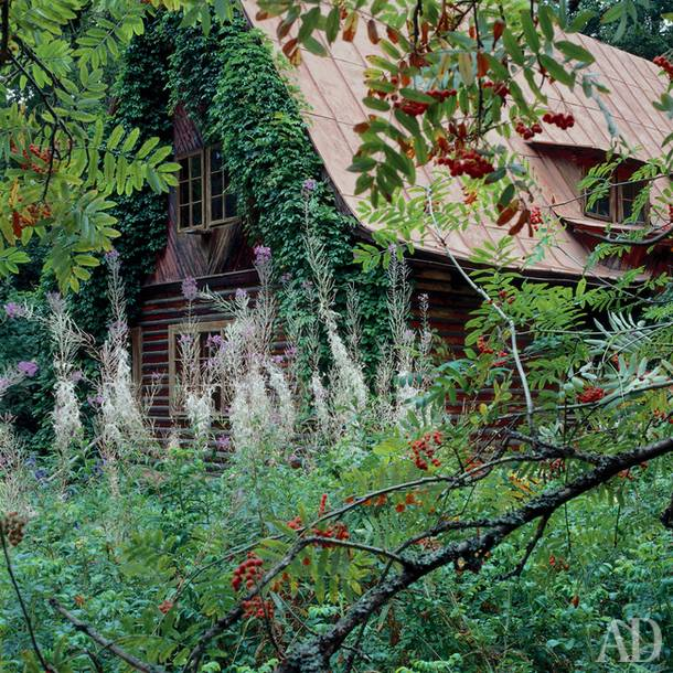 Grigory Goltz's dacha near river Istra. The cottage village was founded by leading Soviet architects of 1930-ies