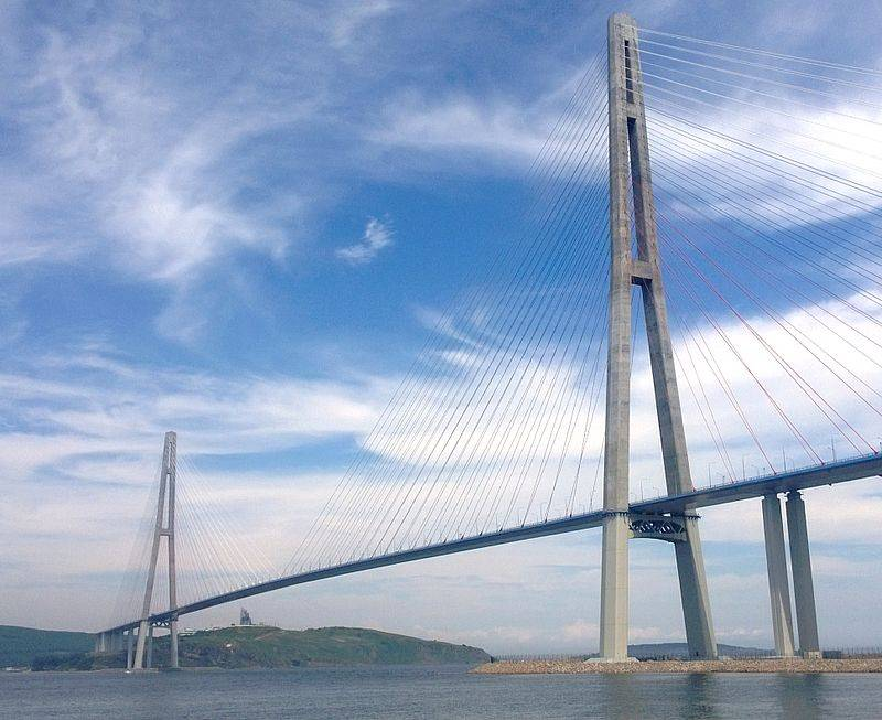 Russky Island Bridge: the longest cable-stayed bridge in the world