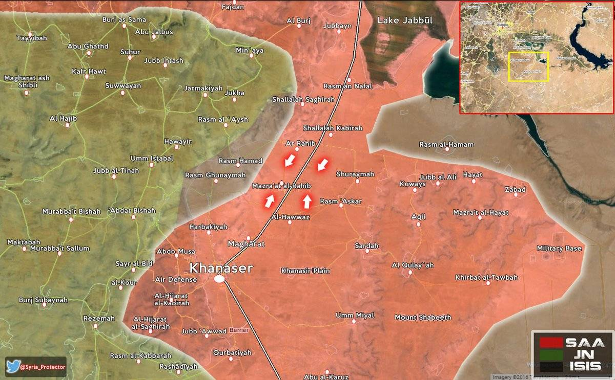 According to some reports, the SAA now has full control over the road