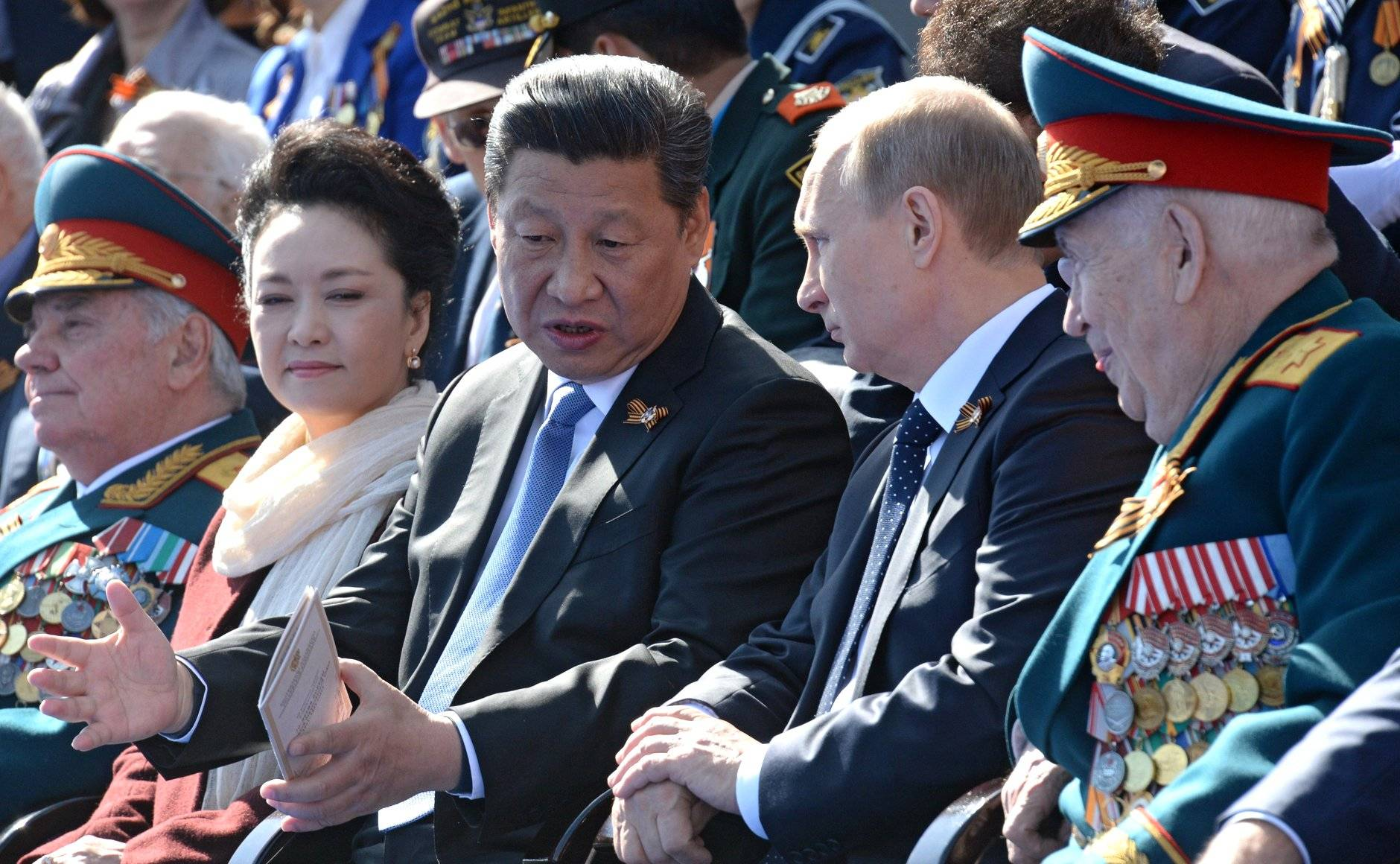 A new era of friendship is evident, in the interactions of China's President Xi Jinping, and Vladimir Putin (Kremlin)