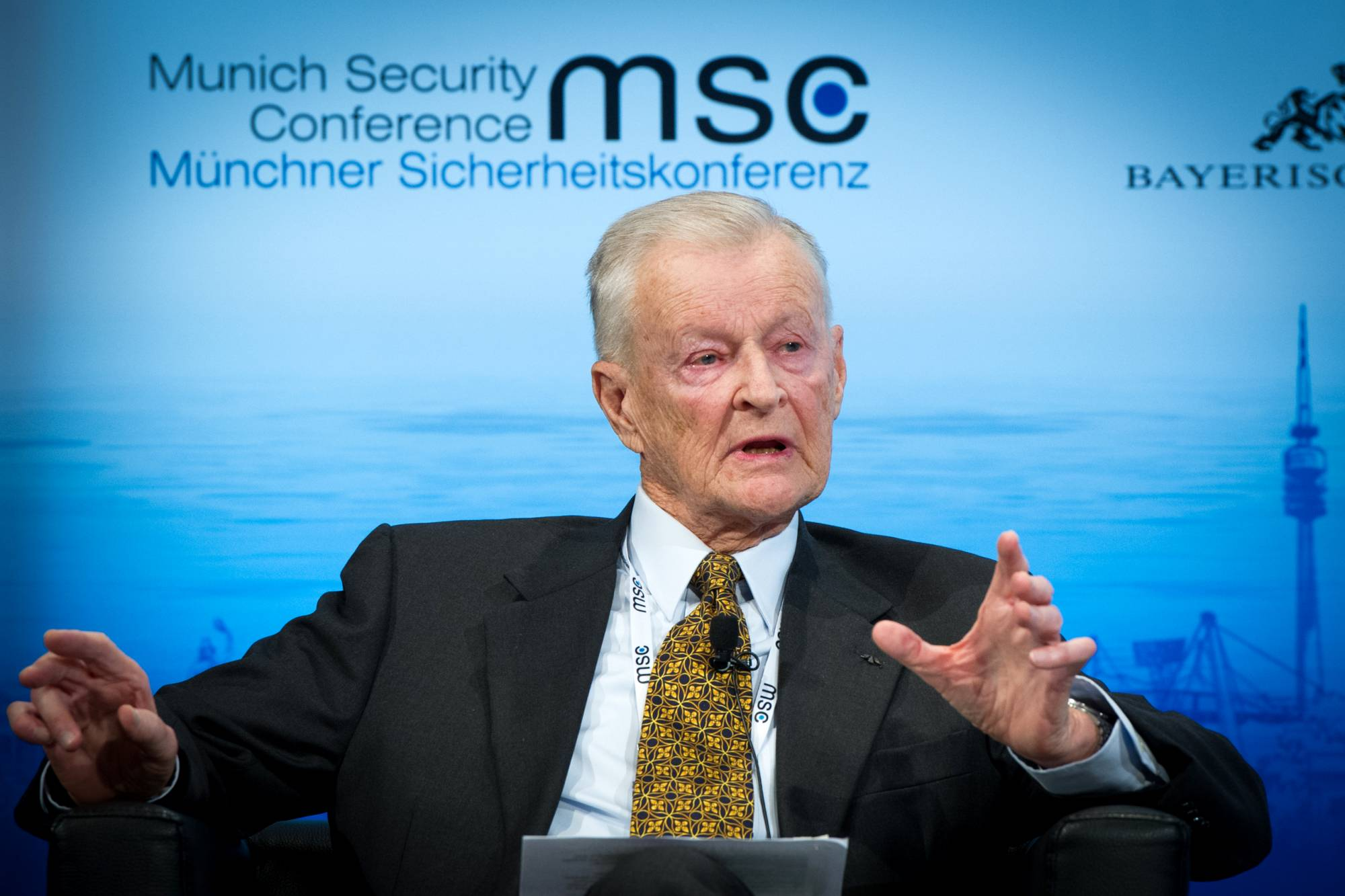 50th Munich Security Conference 2014: Zbigniew Brzezinski: Zbigniew Brzezinski (Former United States National Security Advisor; Counselor and Trustee, Center for Strategic and International Studies)