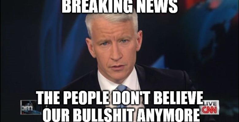 Us Journo Pleads With Fake Media To Stop Insanity For 1 Day