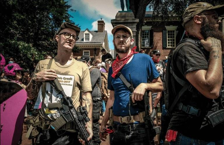 Dixon dispensing vigilante justice in Charlottesville
