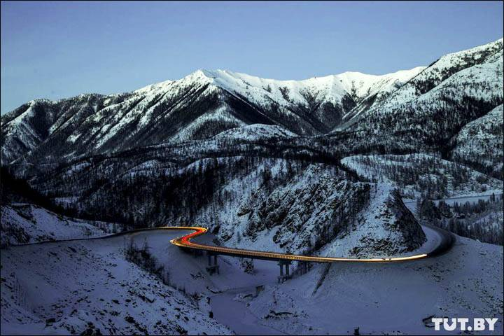 Kolyma motor road, goes through the Russian Far East and connects Magadan with the town of Nizhny Bestyakh in Yakutia. Pictures: Yakutia Info, Pavel Moiseenko, Anton Shelkovich