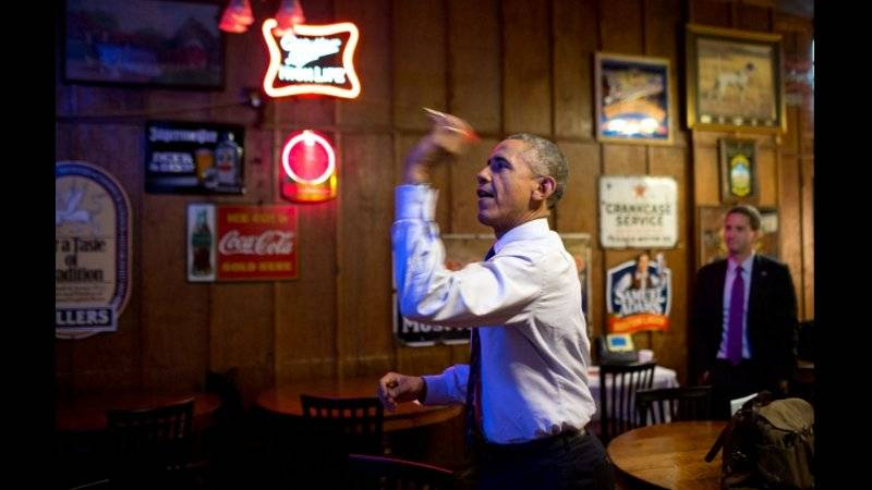 Obama loses policy battle, darts are next