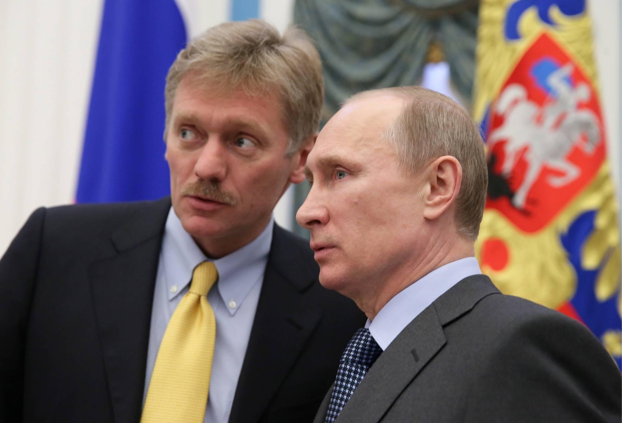 Resultado de imagem para Dmitry Peskov