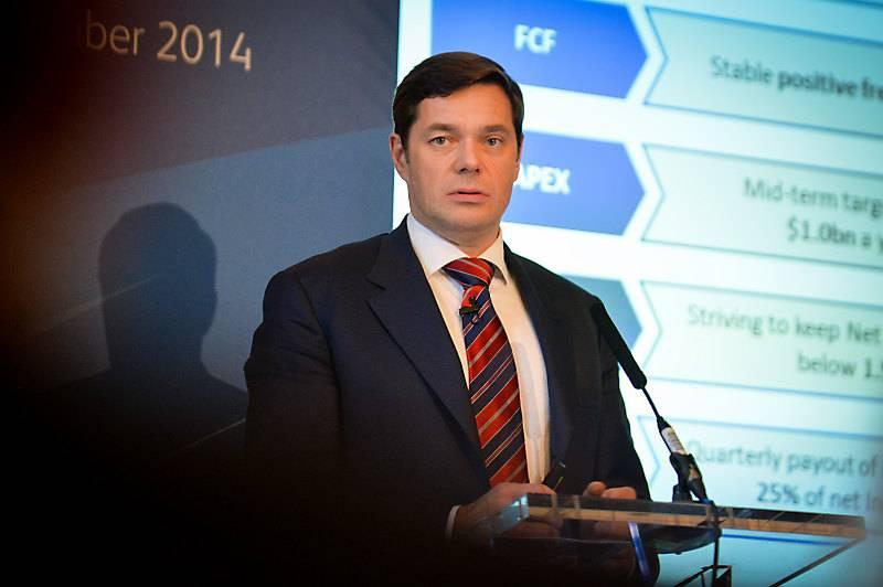 CEO of Severstal Alexey Mordashov