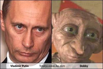 Ufo e Alieni sono tra di noi Putin-and-dobby_0