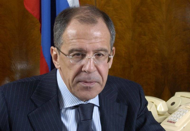 Russian Foreign Minister Sergey Viktorovich Lavrov - (The Ministry)
