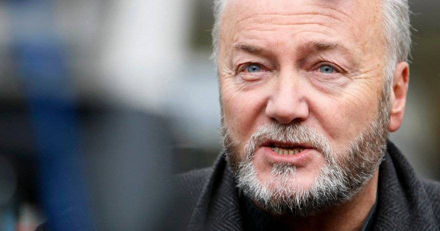 At least the controversial George Galloway has the courage to take a beating for his views!