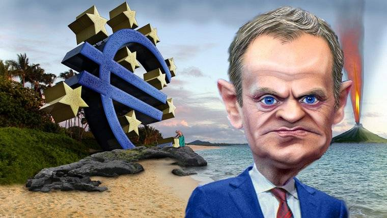The EU under Donald Tusk. The cataclysm to come (Thanks to Donkeyhotey)