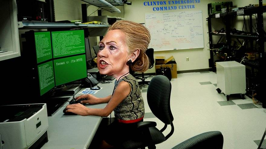 Hillary Clinton's command and control (Donkeyhotey)