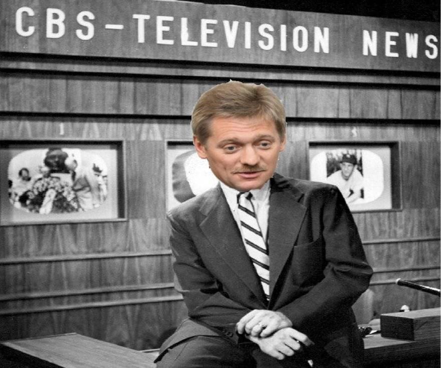 Dmitry Peskov as CBS' first TV anchor - It could happen