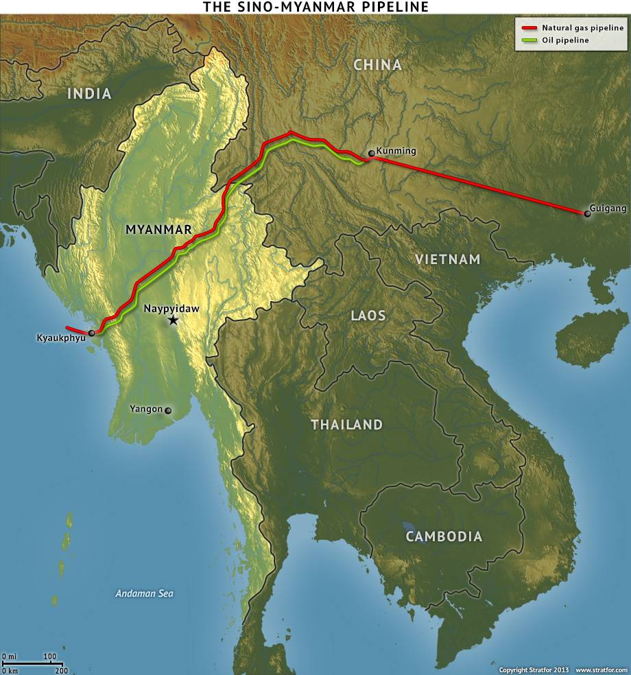 myanmar energy geopolitics