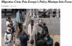 """""""Нью-Йорк таймс"""" любит порассуждать о недостатках миграционной политики европейцев"""