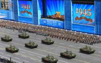 The parade was declared by the Kremlin to be the largest military show in history.