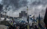 The camp of pro-European integration protesters on Maidan Nezalezhnosti in Kiev | Photo: Andrey Stenin, © Sputnik