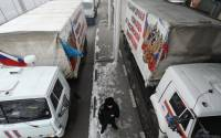 Over 120 vehicles are carrying over 1,400 tonnes of humanitarian aid to Donbas