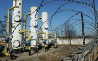 Gas-destribution station at the town of Yenakiieve, Donetsk