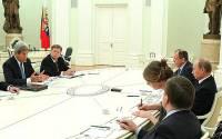 На переговорах в Сочи стороны прошлись по всему спектру российско-американских отношений | Фото: kremlin.ru