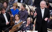 Yuri Temirkanov, artistic director and chief conductor of the St Petersburg State Philharmonic Orchestra | Ruslan Snamukov, TASS