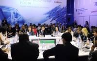 Panel discussion at the Krasnoyarsk Economic Forum