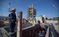 Vostochny Cosmodrome under construction in Amur region, Far East, Russia