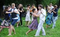 Participants dance at the Dancing City flashmob at Moscow's Gorky Park | Photo: Aleksandr Utkin, RIA Novosti